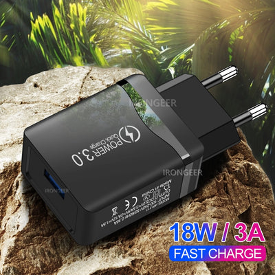 Universal Travel Wall Fast Charger