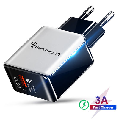 Quick Charge 3.0 4.0 USB Charger