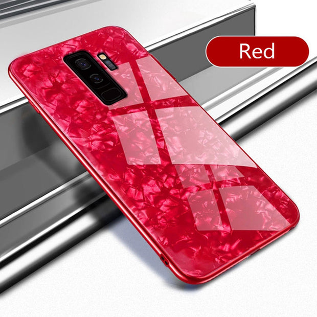 Glitter Bling Tempered Glass Phone Case