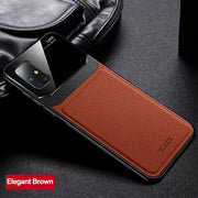 Shockproof Bumper Leather Case