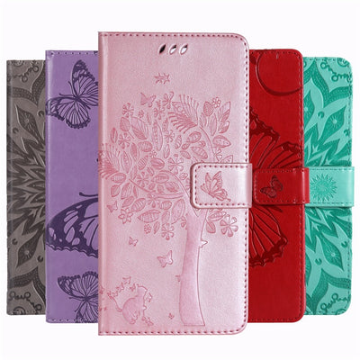 Flip  Leather Case For Samsung