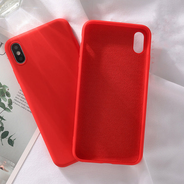 Luxury Liquid Silicone Case