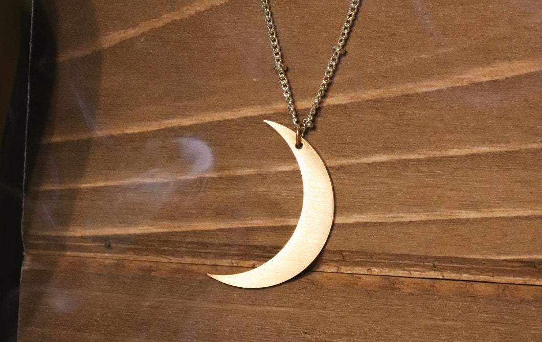 Golden Moon ~ Necklace