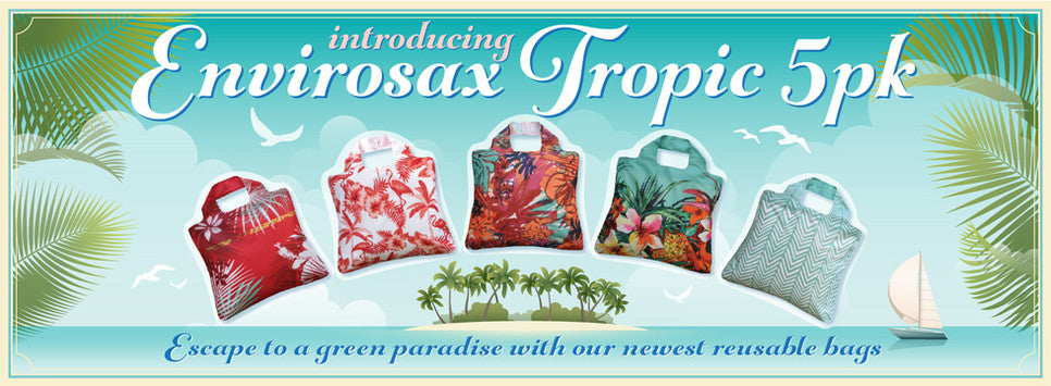 Envirosax Tropic Reusable Bags