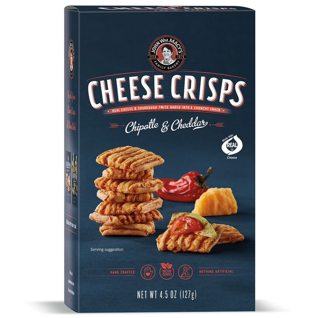 Chipotle & Cheddar CheeseCrisps, 4.5 oz. Multipacks