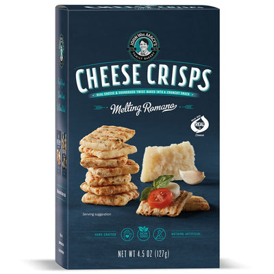 Melting Romano CheeseCrisps 4.5-oz Ctn