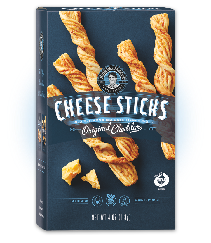 Original Cheddar CheeseSticks, 4 oz. Multipacks