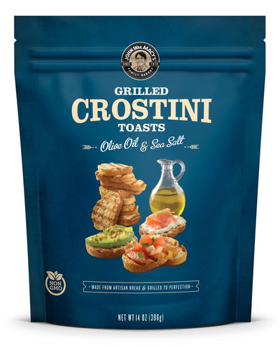 Sea Salt & Olive Oil Crostini - 2 14-oz Bags