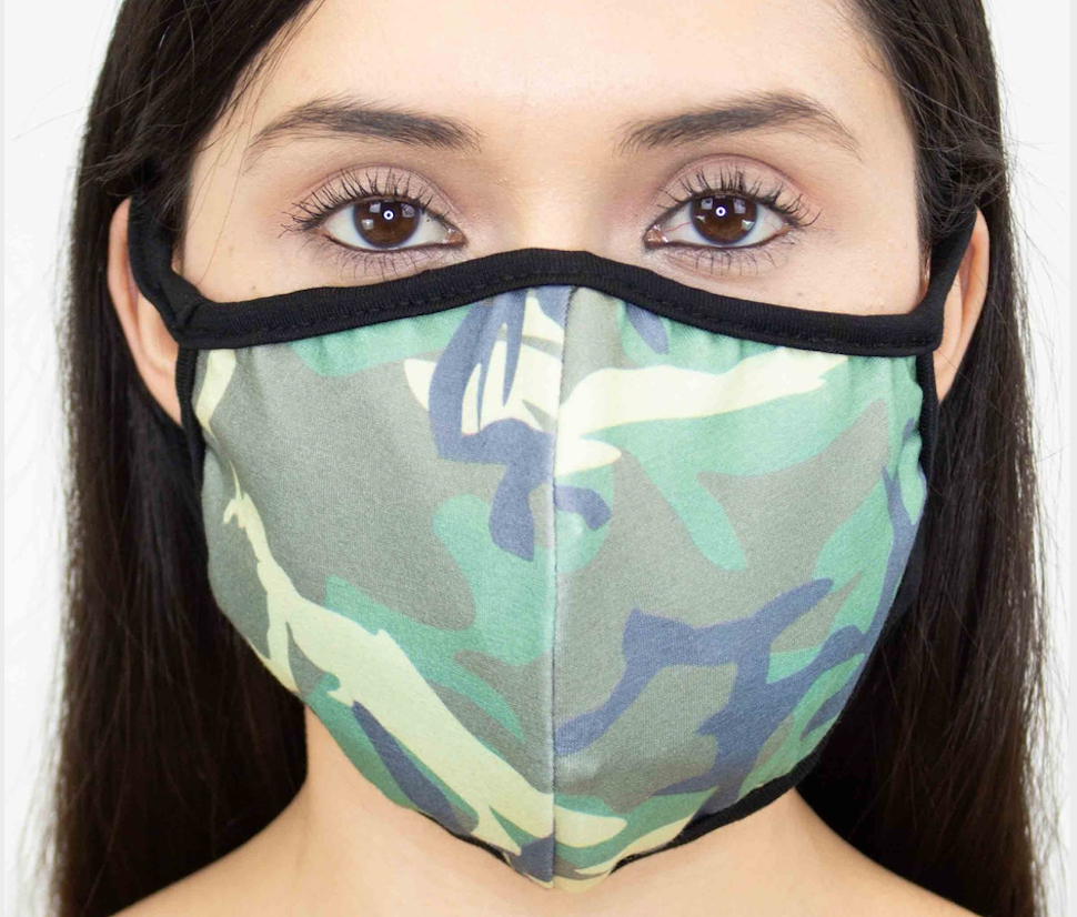 Printed Face Masks