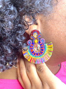 Color Me Tassel Earrings