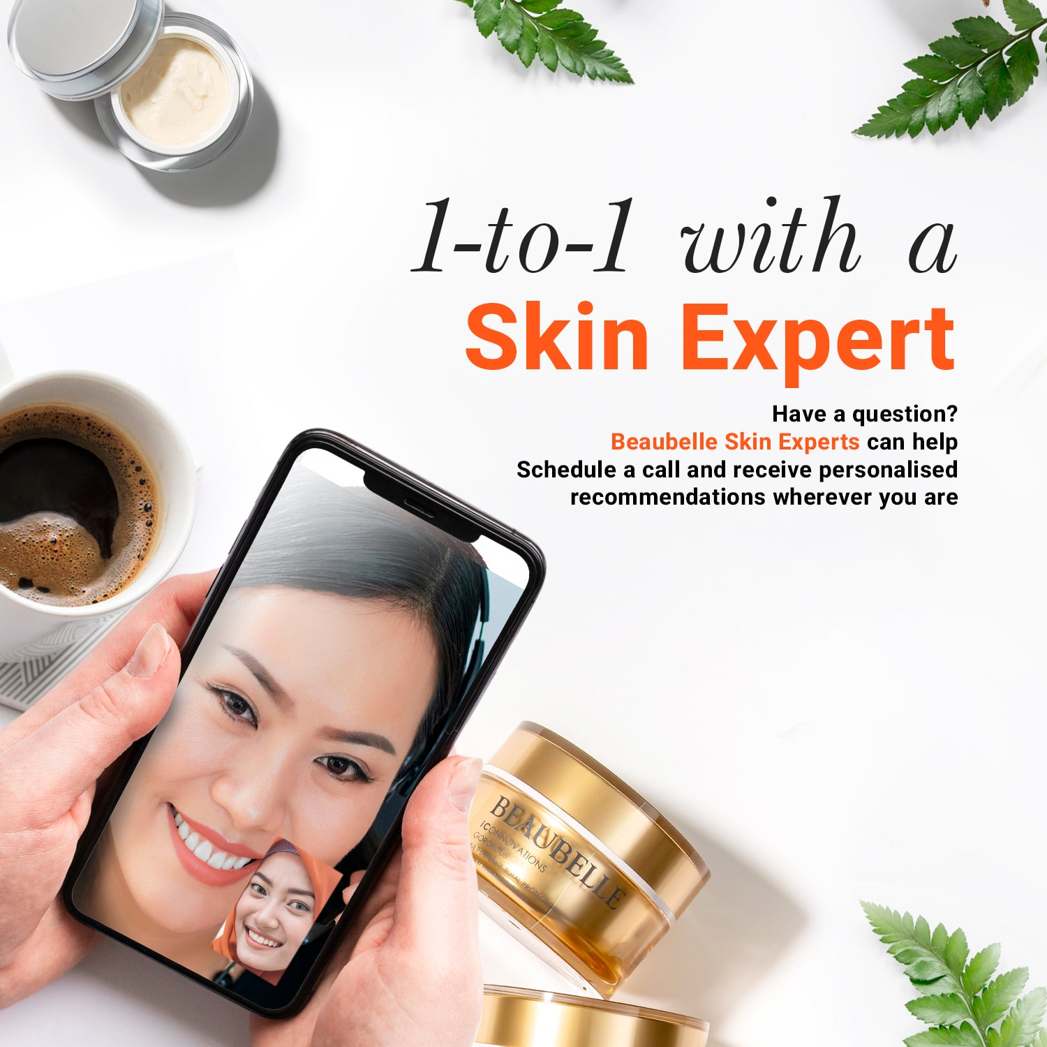 Virtual One-to-One Skin Consultation