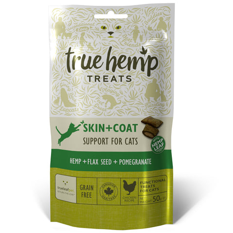 True Hemp Skin + Coat Treats for Cats