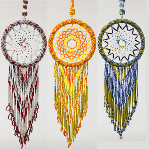 Beaded Dreamcatchers 3""