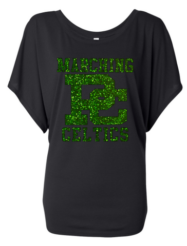 Providence Marching Celtics Mom Bella Flowy shirt