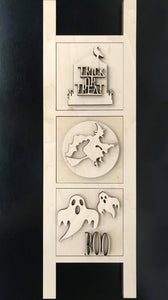 Halloween Ladder DIY Wood Paint project starter  Set
