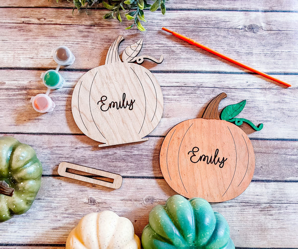 Thanksgiving DIY Paint Kits Pumpkin