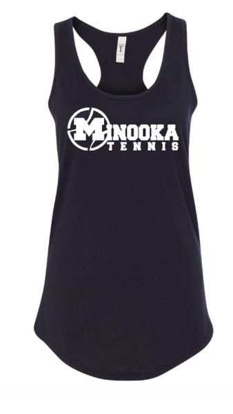 Minooka Girls Tennis Next Level Tank Top