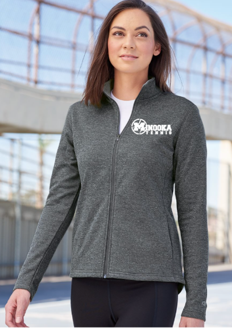 Minooka Girls Tennis Champion Full Zip Jacket