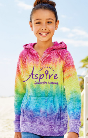Aspire Rainbow Tie Dyed Sweatshirt