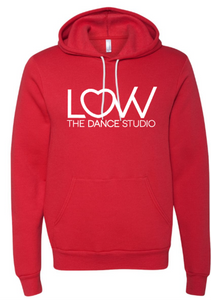 Adult LOVV hoodie Choose solid or glitter print