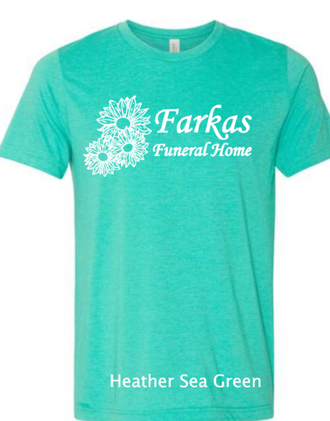 Farkas Funeral Home Softest ADULT Shirt Slim Fit Unisex 8 Colors to choose from