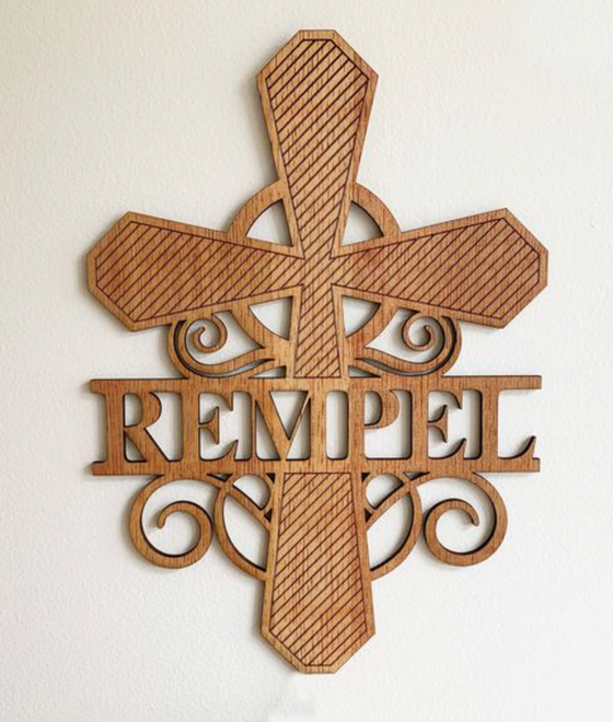 Farkas Funeral Home Personalized Crosses Donation to Joliet Area Hospice