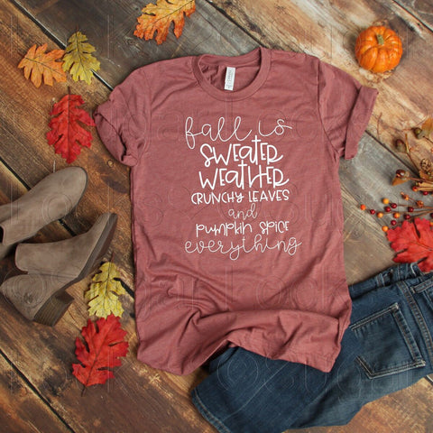 Fall is definition Custom Fall shirt