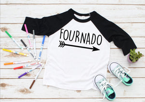 Fournado Birthday Number Shirt