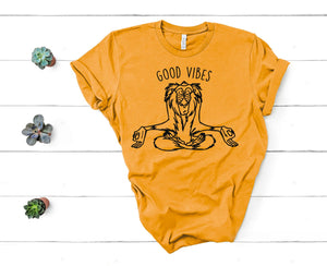 Good Vibes Lion King Vacation Shirt