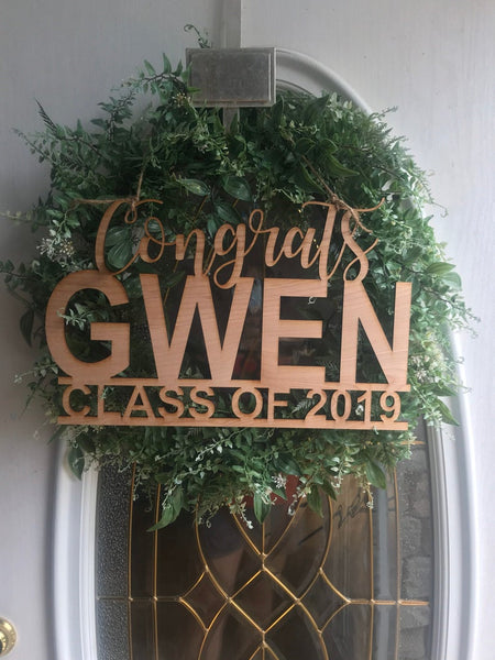 Graduation Custom Door Sign/Photo Prop