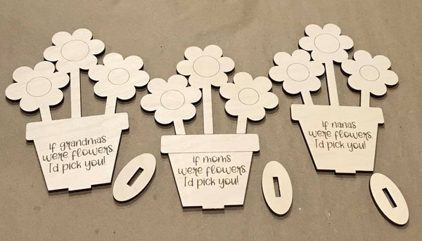 Mother's Day Wood Card DIY Gift
