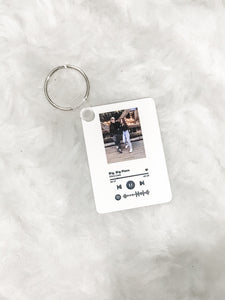 Personalized Spotify Picture Keychain