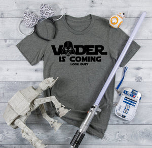 Star Wars Vader is Coming Family Vacation Shirt
