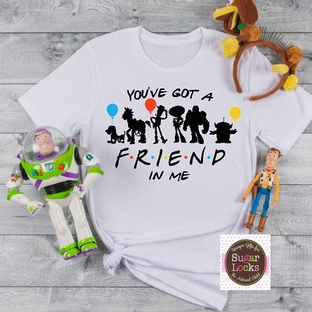 You've Got a Friend in Me Toy Story Vacation Shirt Friends theme