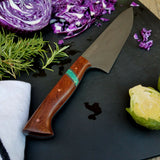 NORA #1201 - CPM-M4 Chef - Rosewood|Teal Blue Box Elder