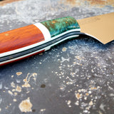 NORA #1222 - Padauk & Emerald Green Chef