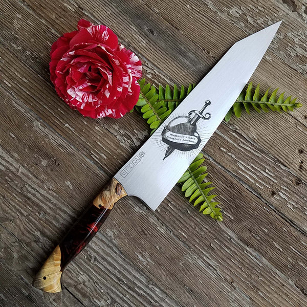 NORA 10' Kiritsuke #1502 - Memento Amare | Memento Condono (Remember to Love, Remember to Forgive)