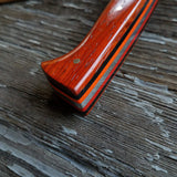 "NORA #1519 - 7.5"" Chef - 01 Carbon Steel - HARD USE - Padauk"