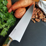 "BF2019 - NORA #1611 - 8.5"" Chef Knife - Dyed Redwood"