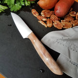 "BF2019 - NORA #1613 - 3.5"" Paring Knife - Quilted Maple"