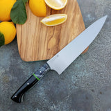 NORA #1640  - 8.5 Inch Chef - O1 Carbon Steel - Black & White