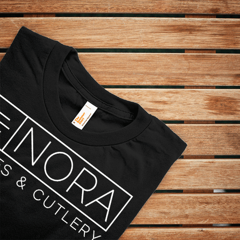 The NORA knife Classic Black Tee