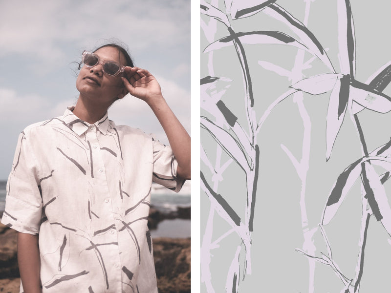 Introducing our Summer Bamboo Print and Q&A with Dubs Yunupingu