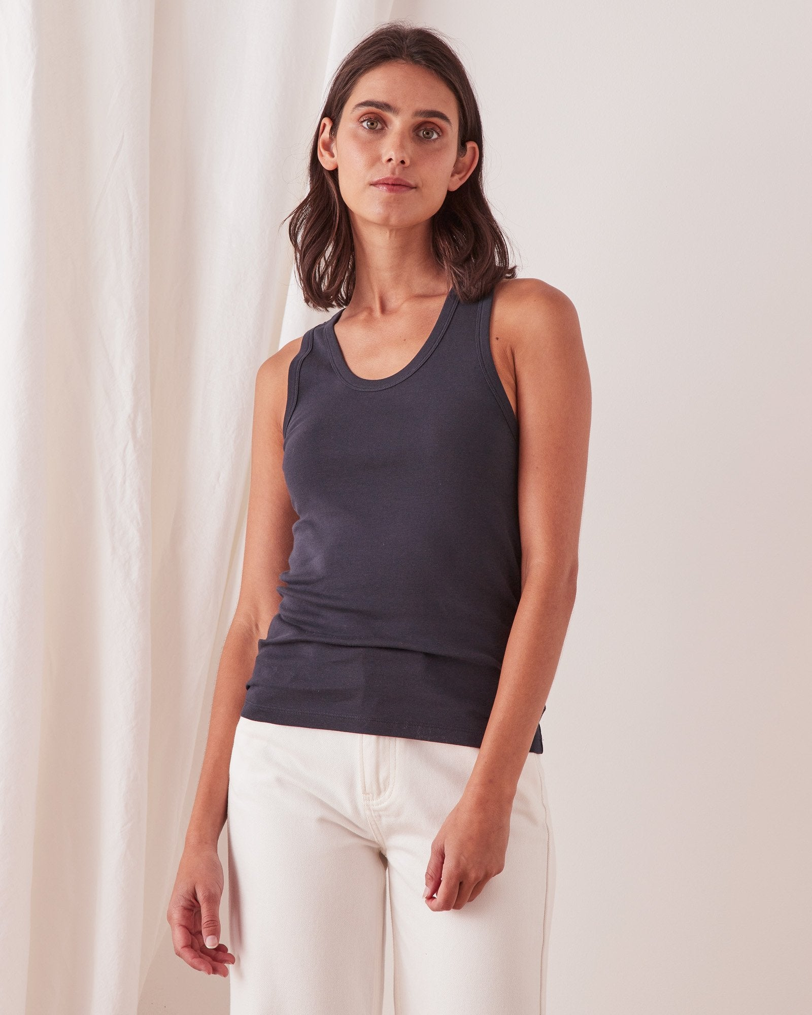 Kai Rib Tank True Navy