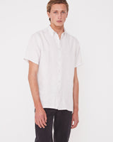 Casual Short Sleeve Shirt Pumice