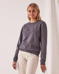 Iona Terry Sweater Charcoal