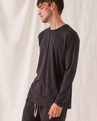 Distant Long Sleeve Tee Black