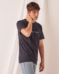 Logo Tee True Navy