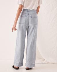 Wide Leg Jean Pacific Blue