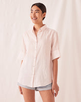 Short Sleeve Shirt Pink Dew